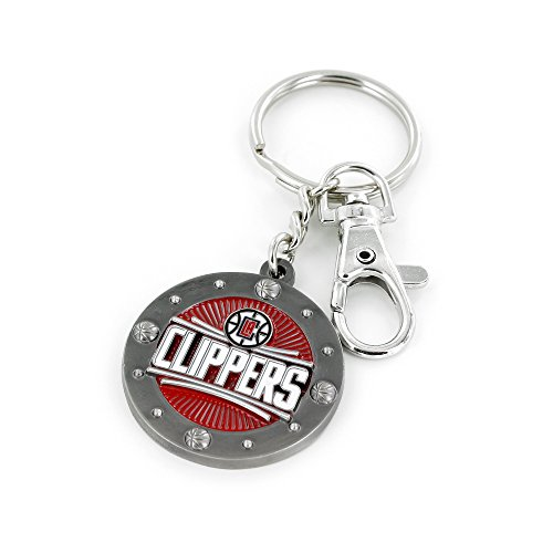 NBA Los Angeles Clippers Impact Keychain, Red -