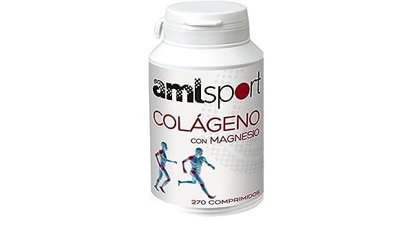Colágeno con Magnesio Amlsport 270 comprimidos de Ana Maria La Justicia: Amazon.es: Salud y cuidado personal