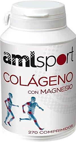 Colágeno con Magnesio Amlsport 270 comprimidos de Ana Maria La Justicia