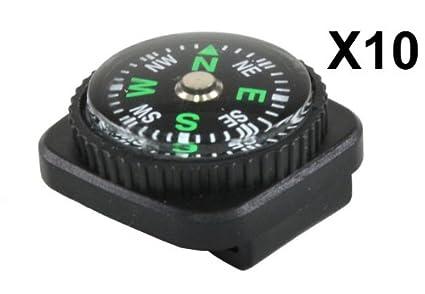 amazon com 10 gorilla paracord black plastic slide on watchband