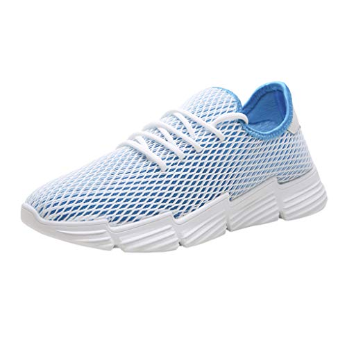 JJLIKER Mens Slip On Shoes Lightweight Comfortable Fashion Sneakers Breathable Mesh Walking Foam Running Shoes