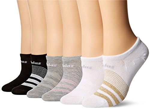 Adidas Womens Superlite Super No Show Socks (Pack of 6)