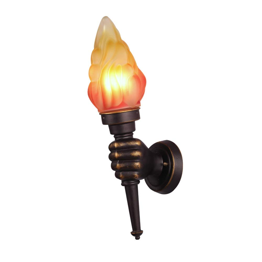 Amazon com xumingbd left hand right hand torch sconce oil rubbing