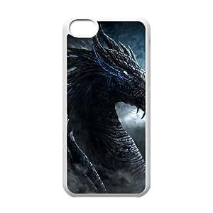 T-TGL(RQ) DIY New Fashional hard phone Case for Iphone 5C custom Dragon case