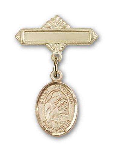 Icecarats Or Bijoux De Créateurs Rempli R. Aloysius Charme Gonzaga Broche De Badge 1 X 5/8