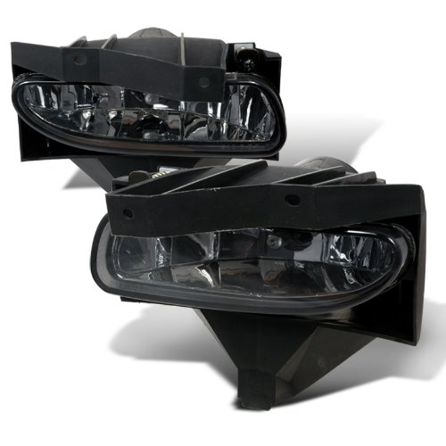 Spec-D Tuning LF-MST99G-WJ Ford Mustang Base Gt Smoked Fog Lights Lamps W/ Brackets
