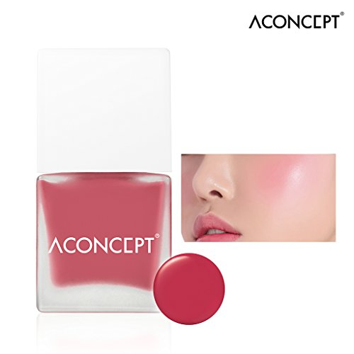 [A:CONCEPT] Cheek Me 10g - Watercolor Cheek Liquid Blusher, Easy to Blush Makeup, Daily Color (#5 Miss me)