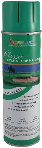 (Seymour 20-695 Stripe Golf and Turf Marker Classic, Green)