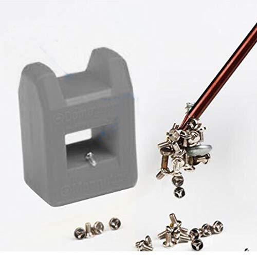 磁化消磁ツールドライバーベンチビットガジェットハンディ磁化ドライバークイック磁気消磁1PCランダムな色
