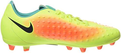 Nike Unisex-Erwachsene Jr Magista Opus Ii Ag-Pro Fußballschuhe Gelb (Volt/Black-Total Orange-Clear Jade)