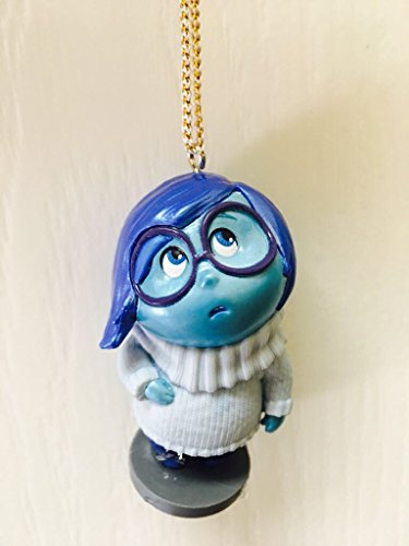 "Disney Inside Out Sadness 3"" PVC Figure Holiday Christmas Tree Ornament Action Figurine Toy"