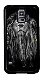 Rugged For Case Iphone 6Plus 5.5inch Cover and Cover - Rasta Lion Custom Design PC For Case Iphone 6Plus 5.5inch Cover - Black