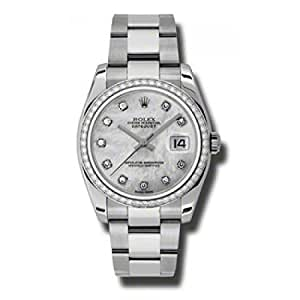Rolex Datejust Mother of Pearl Dial Unisex Watch 116244