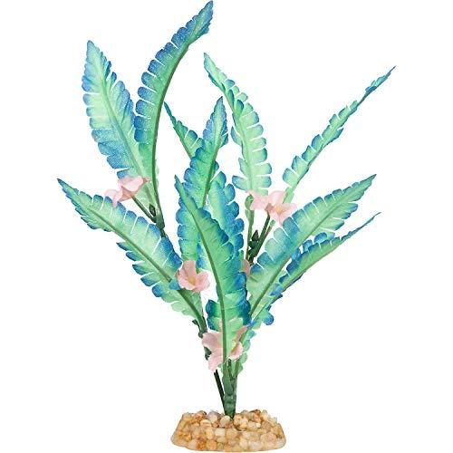 Petco Brand – Imagitarium Aqua Bloom Silk Aquarium Plant, Medium, Multi-Color