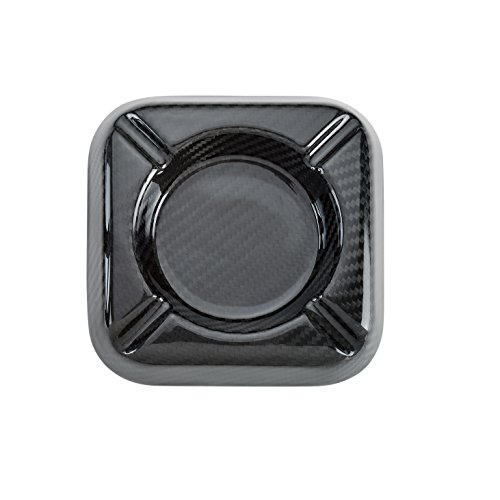 Real Carbon Fiber 3K twill Cigar and Cigarette Ashtrays Cigar Holder (Fiber Lighter Carbon Cigar)