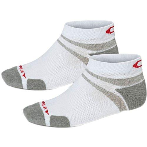 Oakley Men's Golf Low Cut Socks (2 Pack), White, - Golf Men Shoes Oakley For