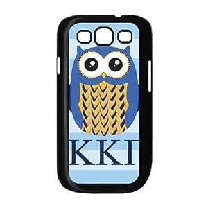 Durable Hard cover Customized TPU case Kappa Kappa Gamma Owl Samsung Galaxy S3 9300 Cell Phone Case Black
