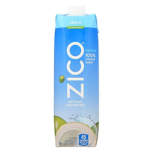 Zico Coconut Water Natural 33 8