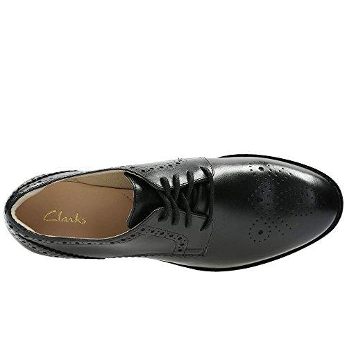 Habillé Femme Taille Noir 37 Netley Chaussures Rose Cuir Clarks En 5dqT85
