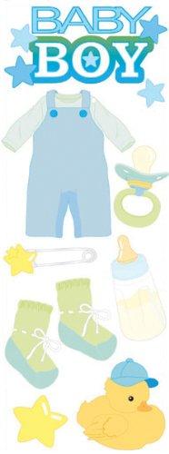 Jolee's Boutique Dimensional Sticker, Baby Boy