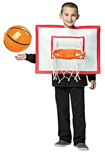 Sports Costumes - Kids Basketball Hoop Funny Costume size 7-10