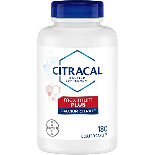 Citracal Maximum Plus Highly Soluble, Easily Digested, 630 mg Calcium Citrate With 1000 IU Vitamin D3, Bone Health…