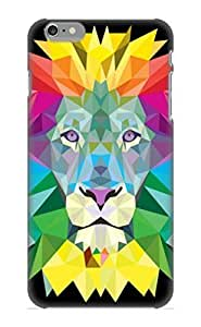 Defender Case For Iphone 6 Plus, Animal Lion Pattern, Nice Case For Lover's Gift