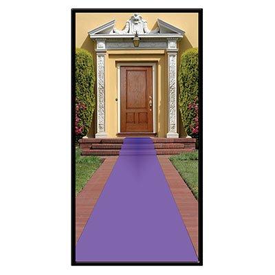 Beistle S50087PLAZ2, 2 Piece Purple Carpet Runners, 24'' x 15' (Purple)