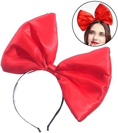 Lurrose Lovely Fashion Cute Super Large Bownoent hoofdband hoofdband hoofdband hair hoop bow headsjurk voor festivals verjaardag