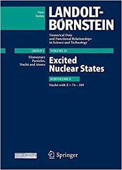 Descargar Con Utorrent Excited Nuclear States - Nuclei With Z = 74-103 Infantiles PDF