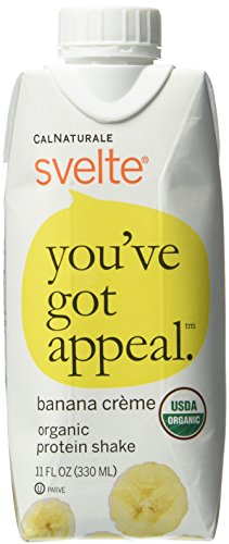 CalNaturale Svelte Organic Protein Shake, 11 Ounce (Pack of 24)