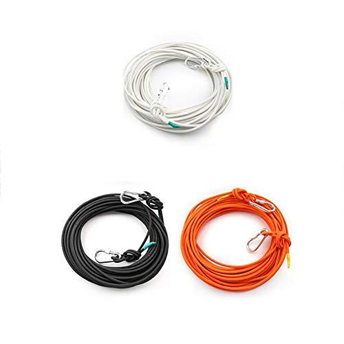 有限構成する落胆した屋外ロープの直径8ミリメートル高層階火災救助ロープエスケープ自己救助ロープ緊急家庭の火災安全ライフライン (色 : オレンジ, サイズ : Diameter 8 mm/15M)