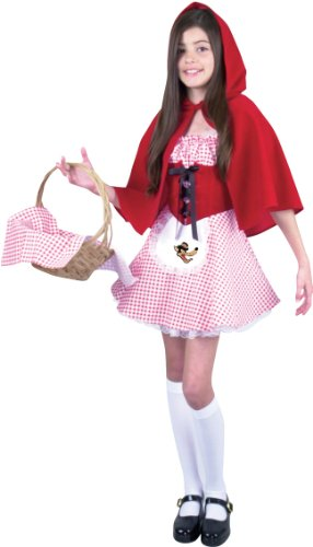 Little Red Riding Hood Costume - Teen Small (Little Red Riding Hood Halloween Costume Teenager)