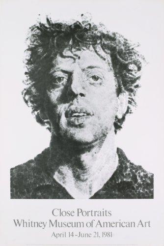 Chuck Close-Large Phil Fingerprint-1979 Poster