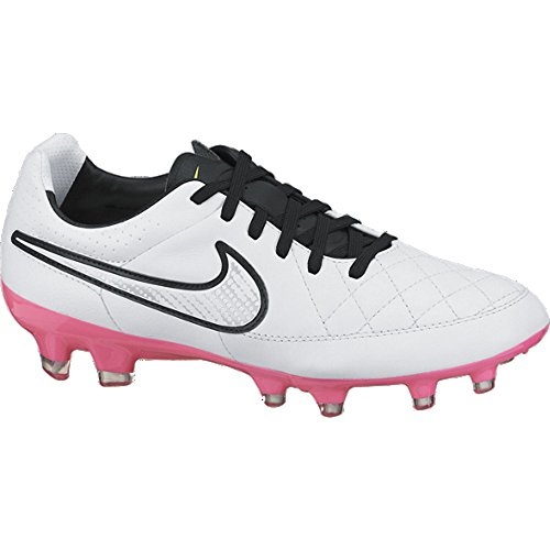 Nike Womens Tiempo Legacy Firm Ground (WHITE PINK POW) hot sale 2017 ... 1455f3f39