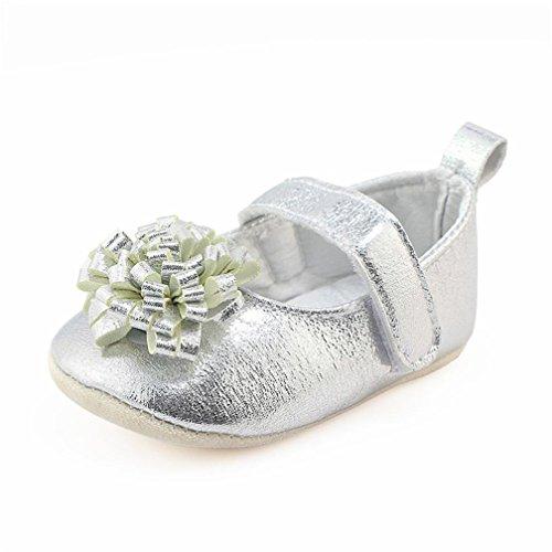 newborn silver dress shoes - 2