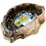 Zoo Med WD-40 Reptile Rock Water Dish Large