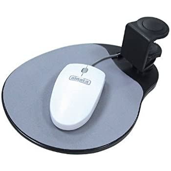 Aidata Mouse Platform Under Desk - black