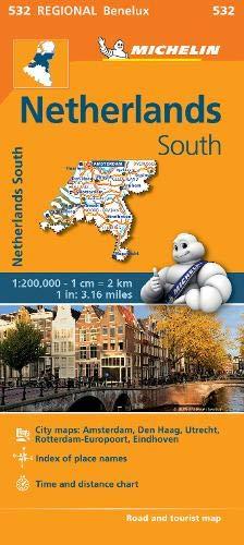 Netherlands South - Michelin Regional Map 532 (Michelin Regional Maps)