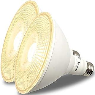 AmeriLuck Dimmable Outdoor PAR38 LED Flood Light Bulb, 100W Equiv. 1050 Lumens 13W (3000K | Warm White, 2 Pack)