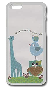 Before You Were Born I Loved You Personalized Custom iPhone 6 Case Cover - PC Transparent