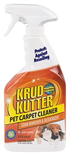 Krud Kutter 305474 Pet Carpet Cleaner & Deodorizer, 22 Oz (Wool Carpet Padding)