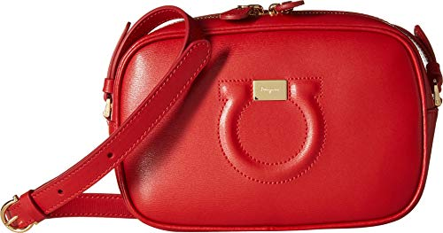 Salvatore City Bag Women's Camera Ferragamo Lipstick HHxqApw