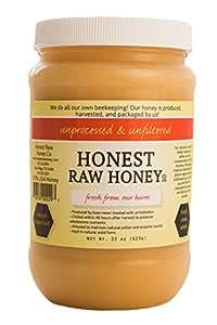 Honest Raw Honey, 22oz