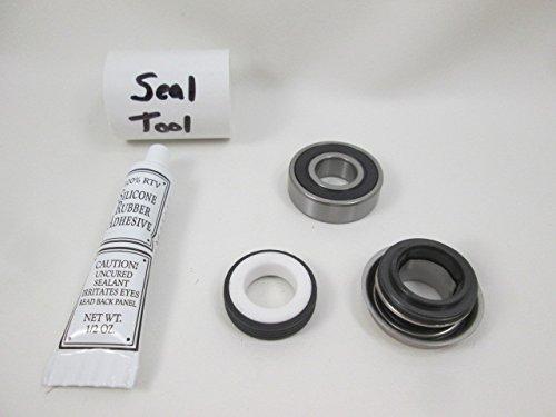 Pump Motor Bearing ((1) Bearing & 1000 Seal Pump Parts Kit Waterway Spa Hot Tub Pumps How To Video)
