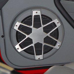 UPR 2005-09 Mustang Billet Speaker Covers -