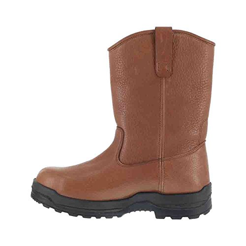 Toe M Rockport Boot WORKS More Men's Pull Composite On Energy 9 Brown Work 5 wTpqpUgX