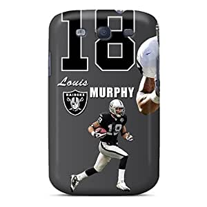 Cute Appearance Cover/tpu SWm1676NeFG Oakland Raiders Case For Galaxy S3