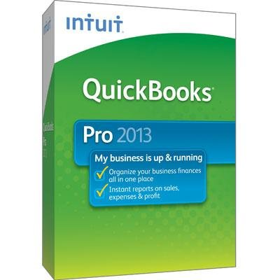 INTU QuickBooks Pro 2013 Win CD 419243 by Intuit