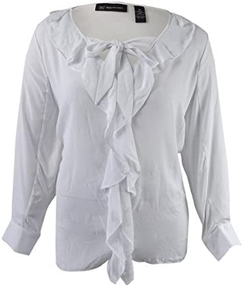 66d6b335505d4 Best White Ruffled Blouses For Women to Buy on Flipboard by darwinreview